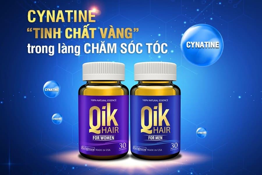 tinh chat cynatine san pham ngan rung toc kich thich moc toc