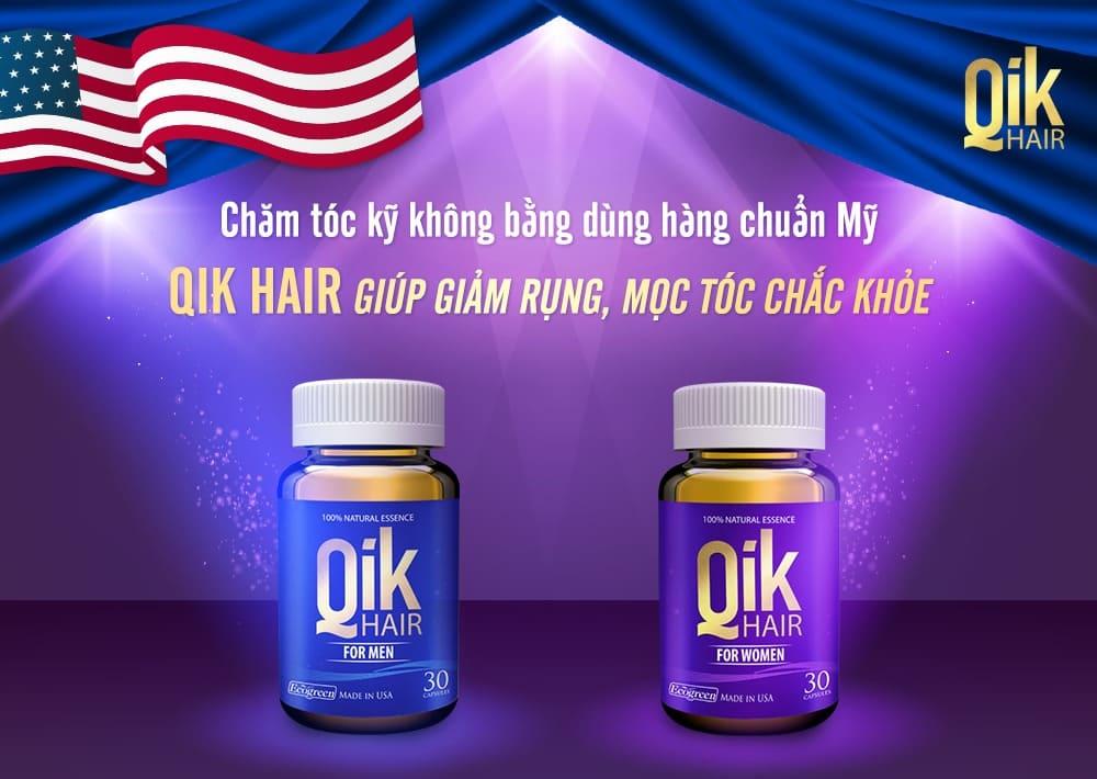 qik hair giam rung moc toc chac khoe