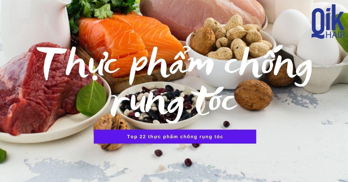 thuc pham chong rung toc