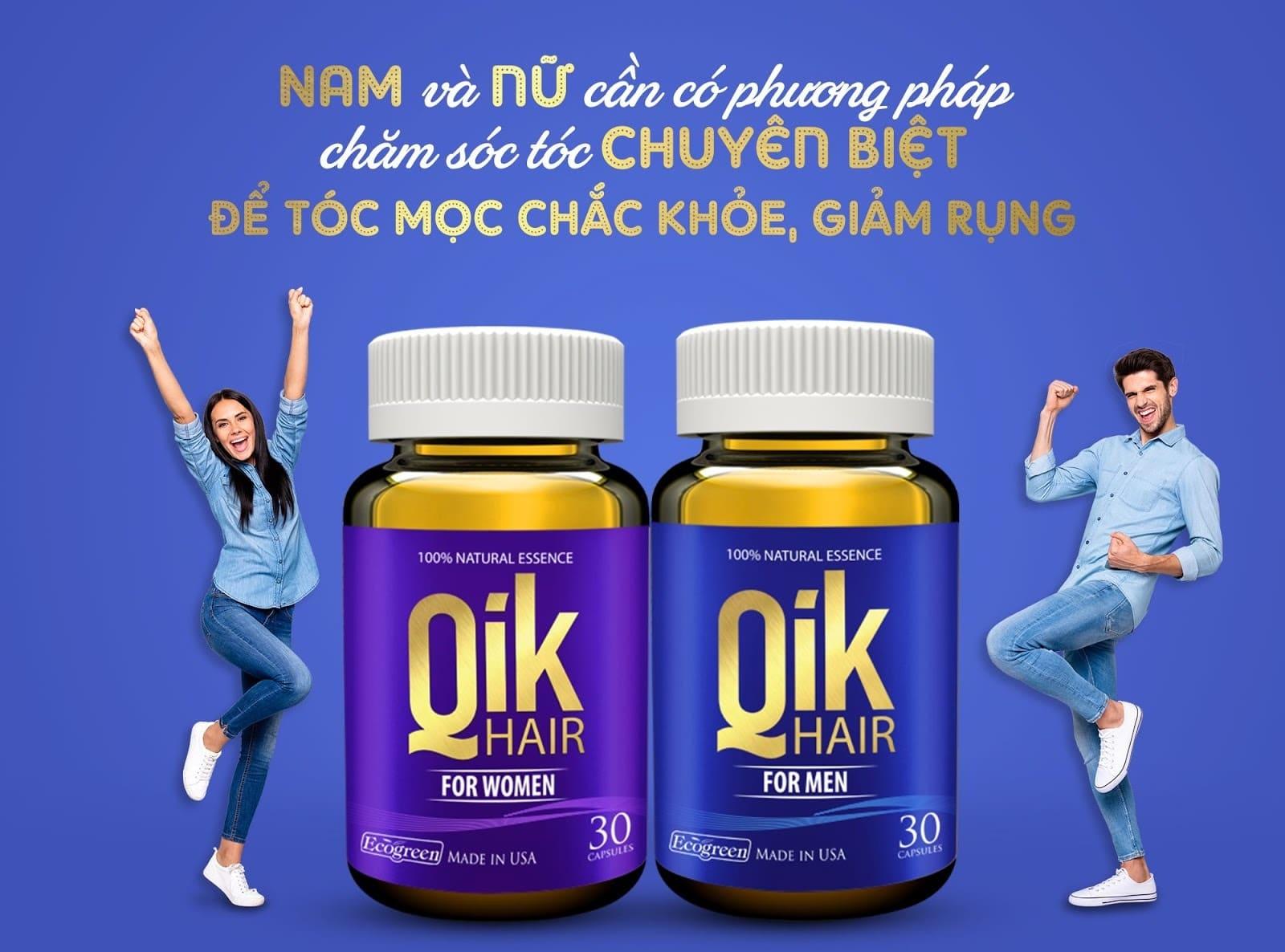 qik hair for men qik hair for women