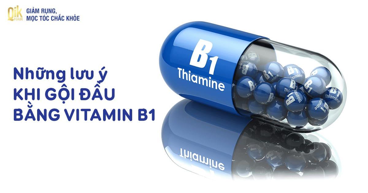 goi dau bang vitamin b1 tri rung toc