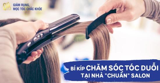 10 cách chăm sóc tóc duỗi thẳng và cúp tại nhà chuẩn như ở Salon