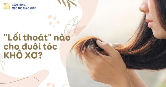 14 cách chữa đuôi tóc khô xơ, phục hồi chuẩn như vừa đi Salon