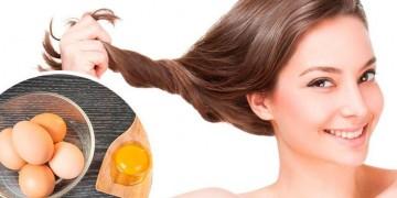 Cách giúp tóc mọc nhanh dài bằng trứng gà