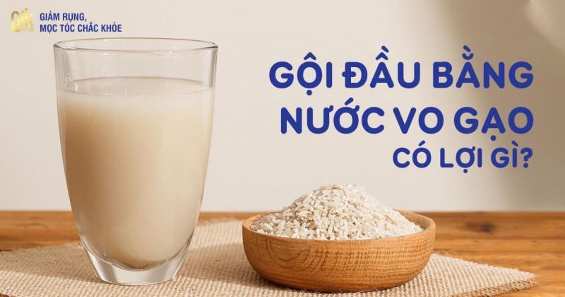 3 cách gội đầu bằng nước vo gạo ủ dưỡng tóc nhanh dài hiệu quả