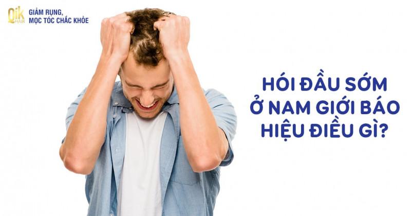 Hói đầu ở nam giới sớm: Nguyên nhân, cách điều trị và phòng tránh
