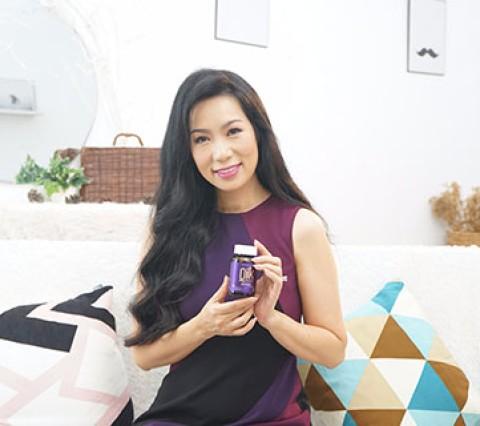 """Trịnh Kim Chi: """"Tóc dày và chắc khỏe là điểm tựa nhan sắc giúp..."""