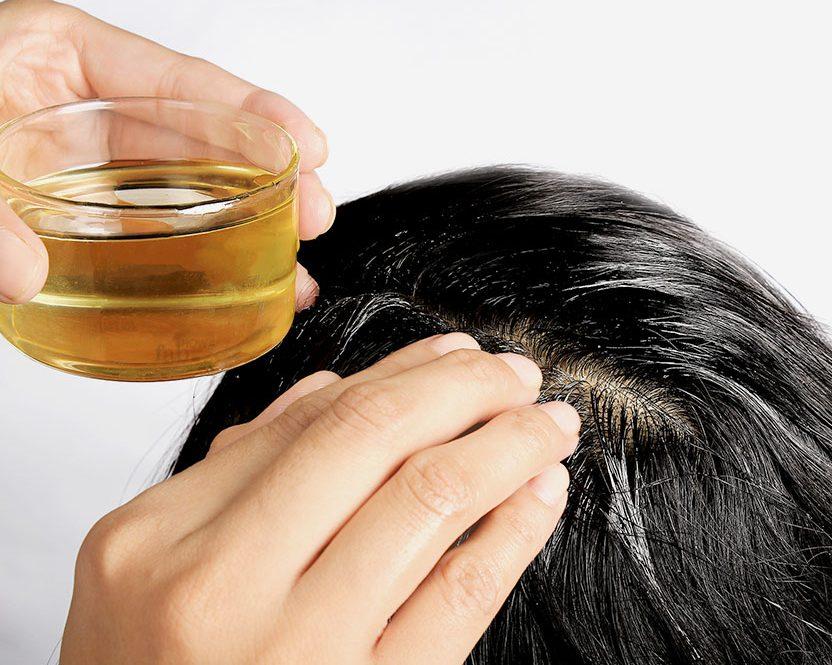 Kết quả hình ảnh cho trị rụng tóc bằng dầu dừa
